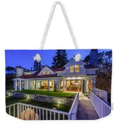 Home At Night 1 Weekender Tote Bag