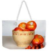Home Grown Tomatoes II Weekender Tote Bag