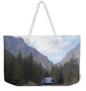 Home In The Mountains Weekender Tote Bag