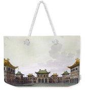 Home Of A Rich Individual In Peking Weekender Tote Bag