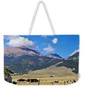 Home On The Range - A Westcliffe Ranch Weekender Tote Bag