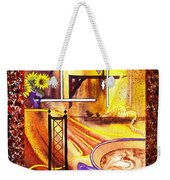 Home Sweet Home Decorative Design Welcoming One Weekender Tote Bag