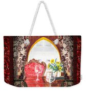 Home Sweet Home Decorative Design Welcoming Two Weekender Tote Bag