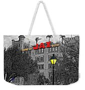Home Sweet Home Monochrome Weekender Tote Bag