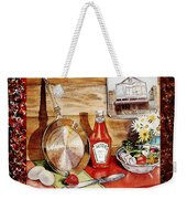 Home Sweet Home Welcoming Five Weekender Tote Bag