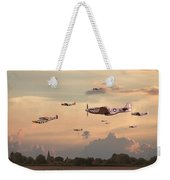Home To Roost Weekender Tote Bag by Pat Speirs