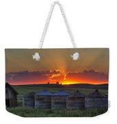 Home Town Sunset Panorama Weekender Tote Bag