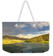 Homeground Rainbow Landscape Weekender Tote Bag