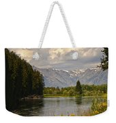 Homeground Waters Landscape Weekender Tote Bag