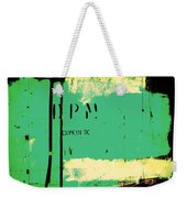 Homeless Shelter Weekender Tote Bag by Chris Berry