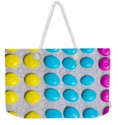 Homemade Candy Dots Weekender Tote Bag