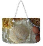 Homemade Pasta Weekender Tote Bag