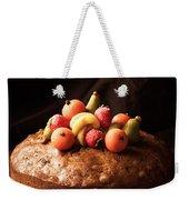 Homemade Rich Fruit Cake Weekender Tote Bag
