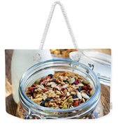 Homemade Toasted Granola Weekender Tote Bag