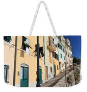 Homes In Bogliasco Weekender Tote Bag