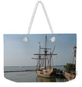 Homesteaders Sailing Ships Weekender Tote Bag