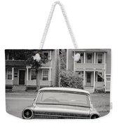 Hometown Usa Platium Print Weekender Tote Bag