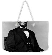 Honest Abe Weekender Tote Bag