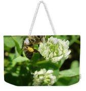 Honey And Clover Weekender Tote Bag