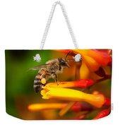 Honey Bee 4 Weekender Tote Bag