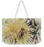 Honey Bee Meets Dandy Lion Weekender Tote Bag