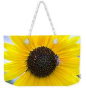 Honey Bee On Wildflower Weekender Tote Bag