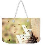 Honey Bees Weekender Tote Bag