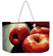 Honey Crisp Apples Weekender Tote Bag