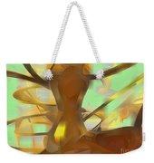 Honey Pastel Abstract Weekender Tote Bag
