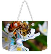Honeybee And Squill Weekender Tote Bag