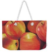Honeycrisp Apples Weekender Tote Bag by Anastasiya Malakhova