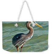 Honeymoon Island Heron Weekender Tote Bag