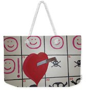 Honeymoons Over Weekender Tote Bag