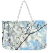 Honeysuckle Blossoms Weekender Tote Bag