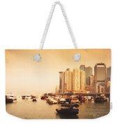 Hong Kong Harbour 02 Weekender Tote Bag