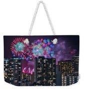Honolulu Festival Fireworks Weekender Tote Bag