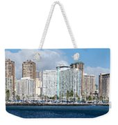 Honolulu Hi 3 Weekender Tote Bag