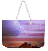 Honor To The Soldier And Sailor Everywhere Weekender Tote Bag