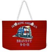 Honoring Americas Bravest From Sept 11 Weekender Tote Bag