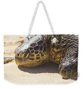 Honu - Hawaiian Sea Turtle Hookipa Beach Maui Hawaii Weekender Tote Bag
