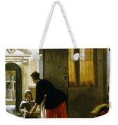 Hooch Boy & Bread, C1663 Weekender Tote Bag