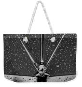 Hood Ornament In B And W Weekender Tote Bag