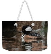 Hooded Merganser 2 Weekender Tote Bag
