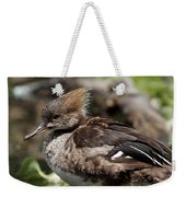 Hooded Merganser Female Weekender Tote Bag