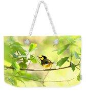Hooded Warbler - Img_9274-007 Weekender Tote Bag