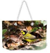 Hooded Warbler - Img_9349-001 Weekender Tote Bag