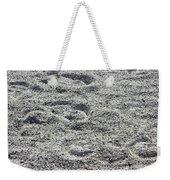 Hoof Prints In Sand Weekender Tote Bag