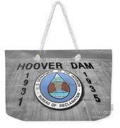 Hoover Logo  Weekender Tote Bag