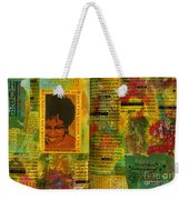 Hope And Belief Love And Laugther Weekender Tote Bag