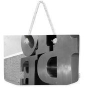 Hope Askew In Black And White Weekender Tote Bag